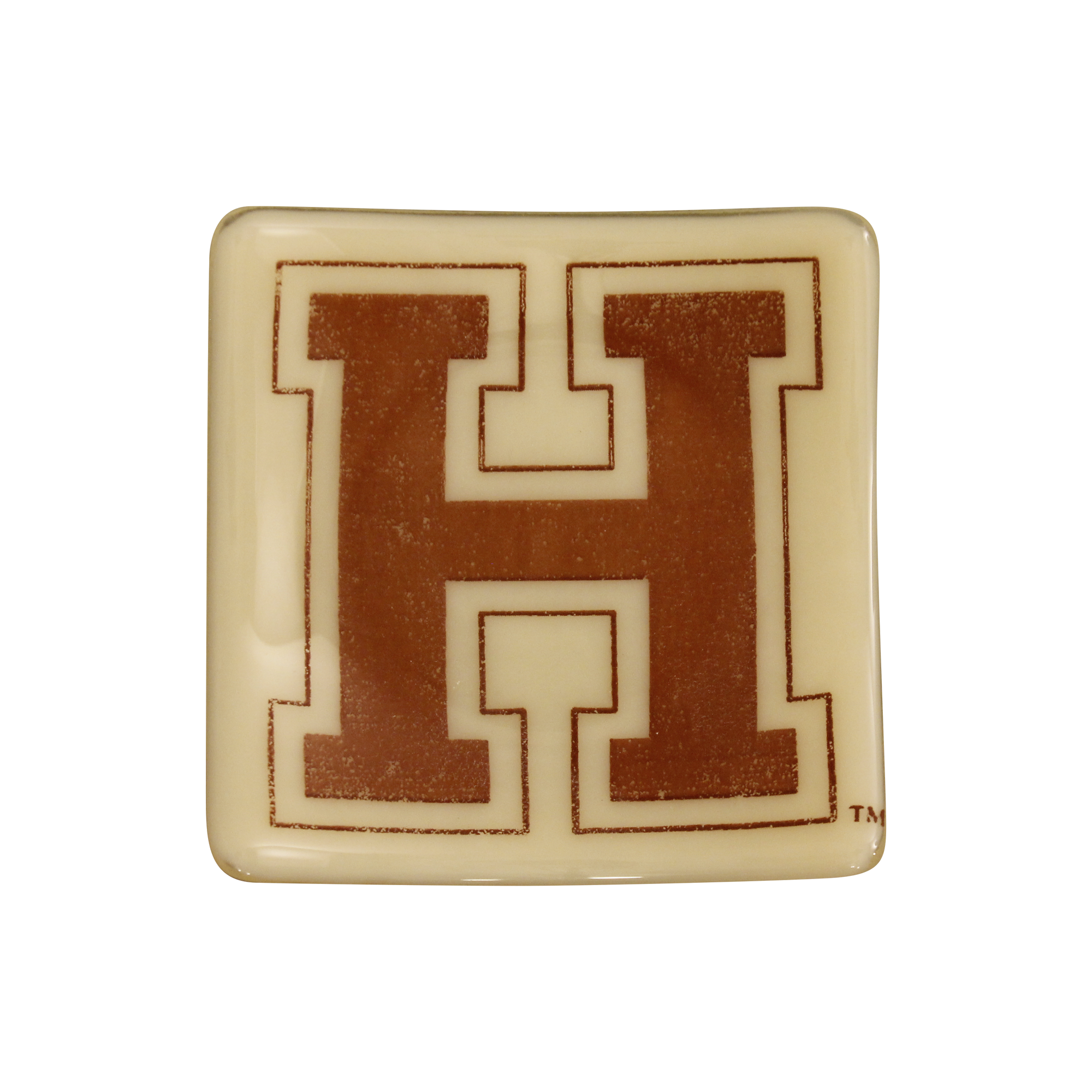 HARVARD UNIVERSITY Glass Dish