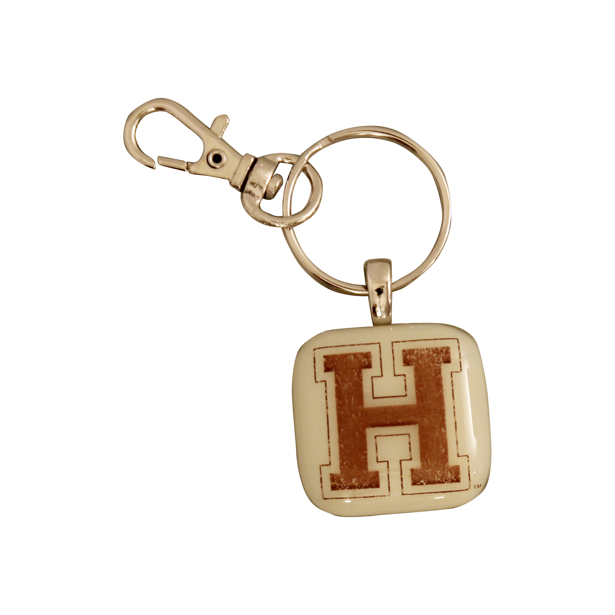 HARVARD UNIVERSITY Glass Key Chain
