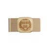 HARVARD UNIVERSITY Seal Glass Emblem Money Clip