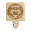 HARVARD UNIVERSITY Seal Glass Night Light
