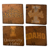 UNIVERSITY OF IDAHO Reclaimed Barn Beam Coaster Set