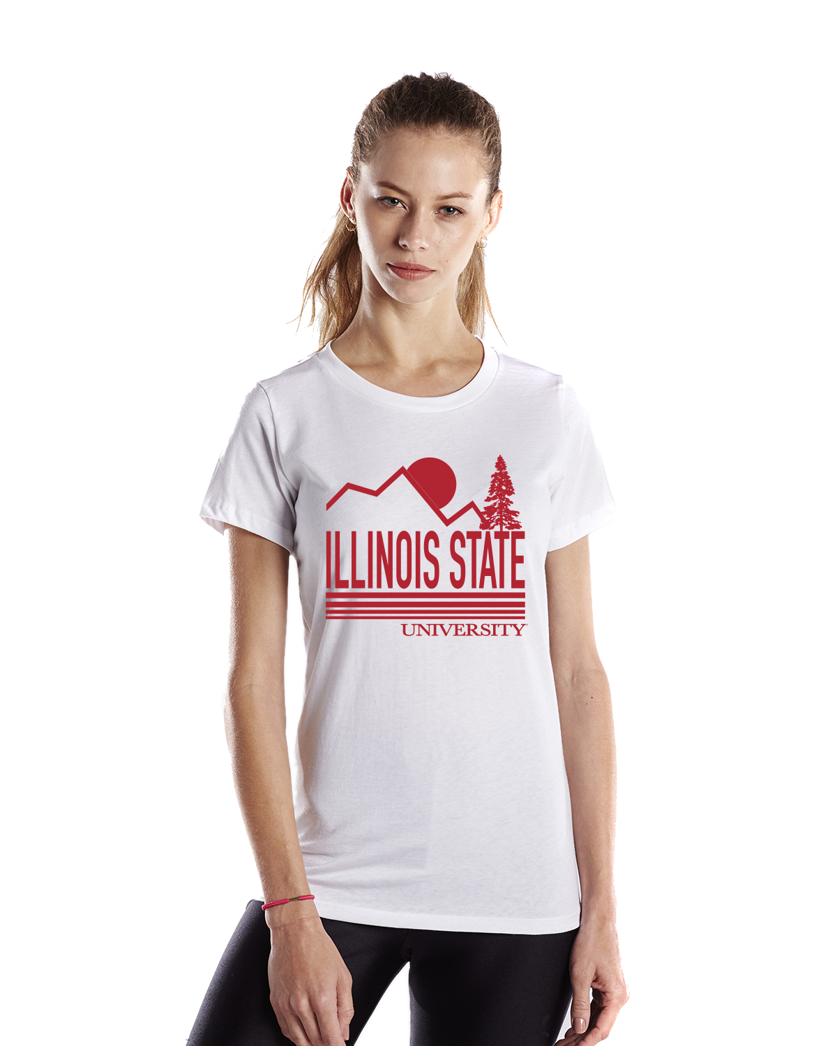 ILLINOIS STATE UNIVERSITY Redbirds Women's Recycled Tee