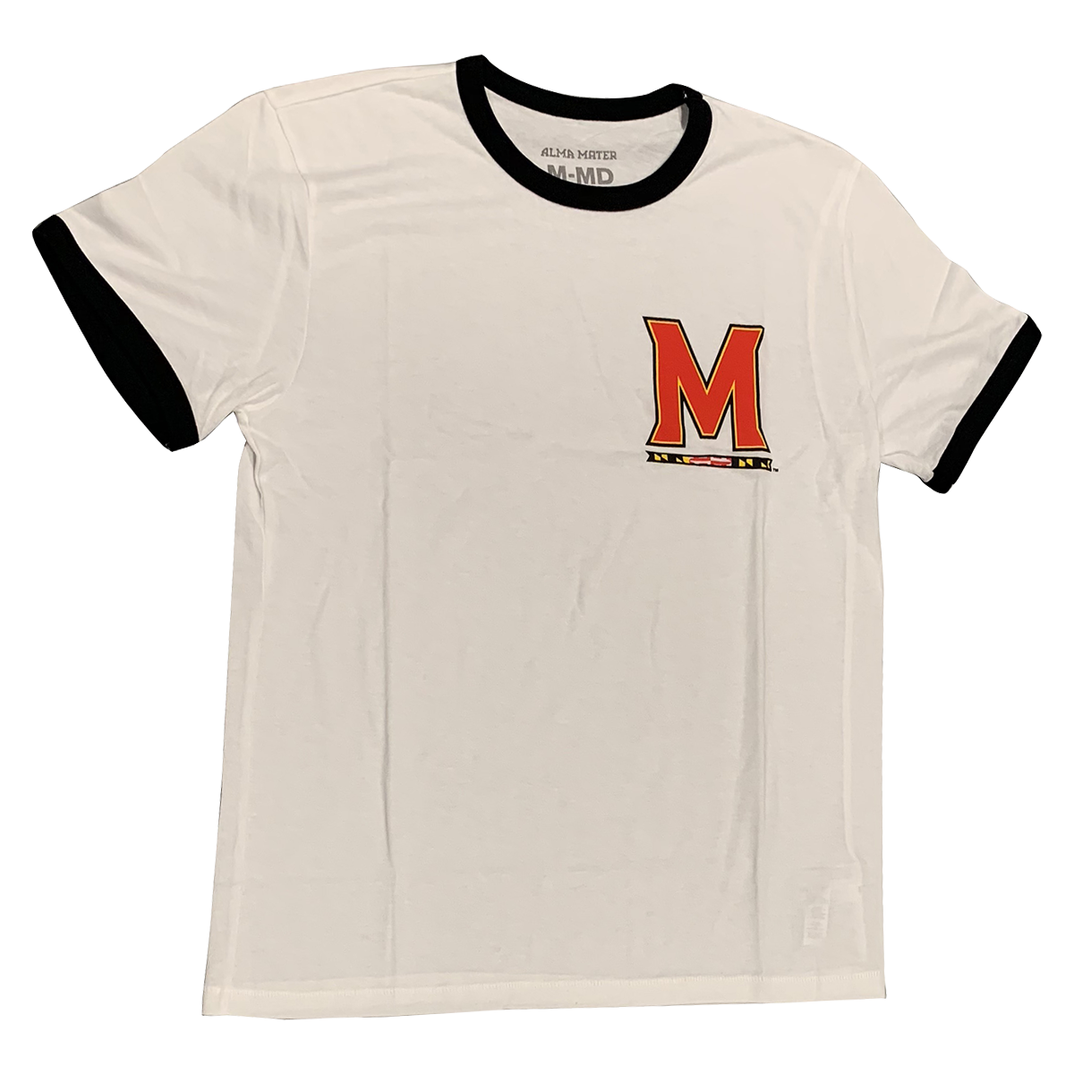 UNIVERSITY OF MARYLAND Terrapins Men's Ringer Tee