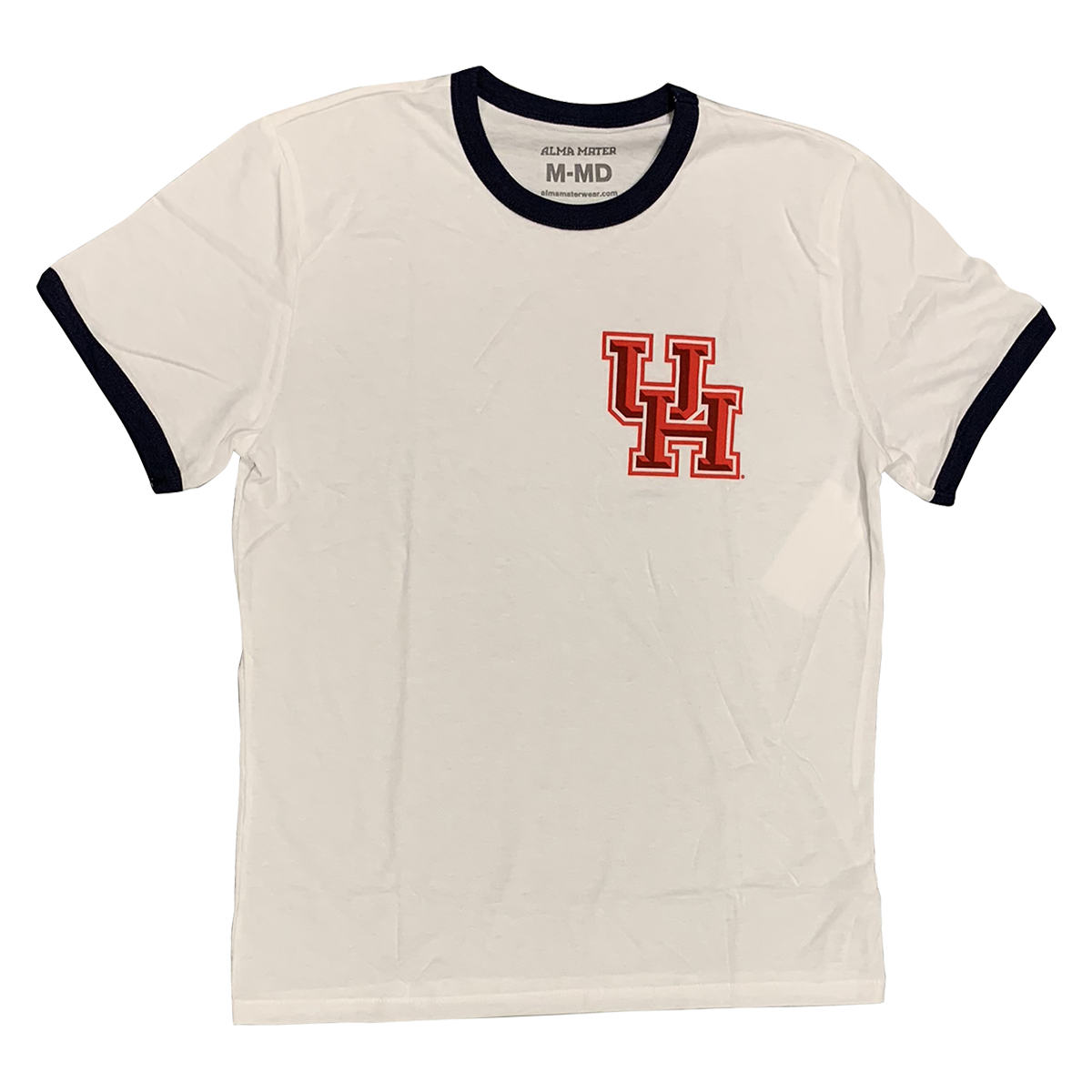 UNIVERSITY OF HOUSTON Cougars Men's Ringer Tee