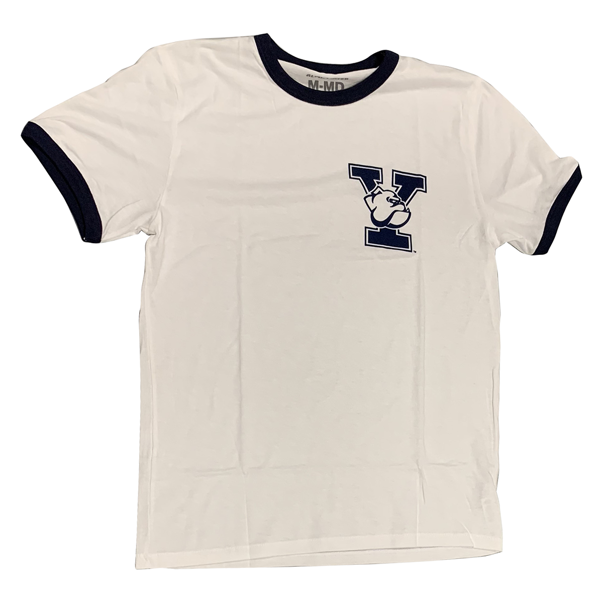 YALE UNIVERSITY Bulldogs Men's Ringer Tee