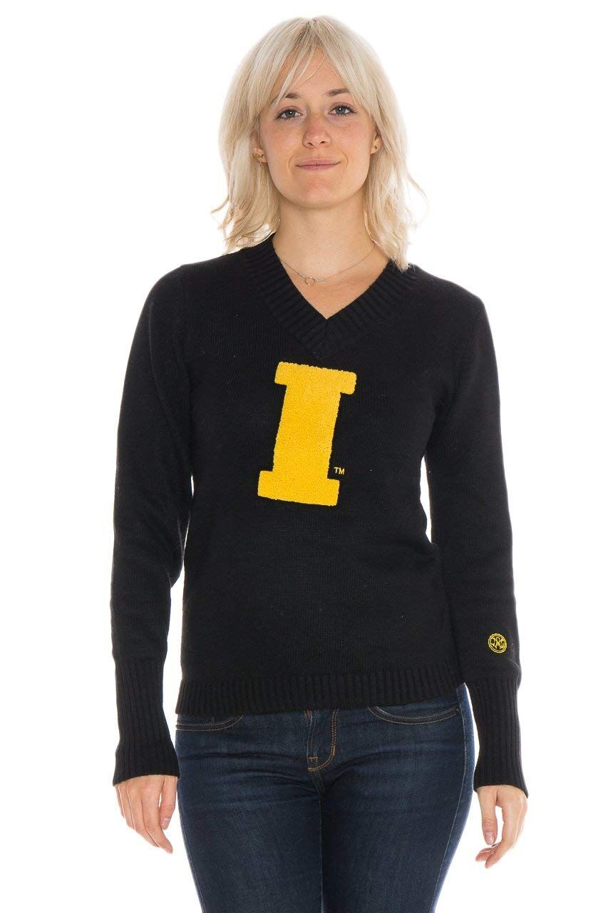 UNIVERSITY OF IOWA Women's V-Neck Sweater