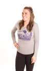 JAMES MADISON UNIVERSITY Dukes Women's Long Sleeve Tee