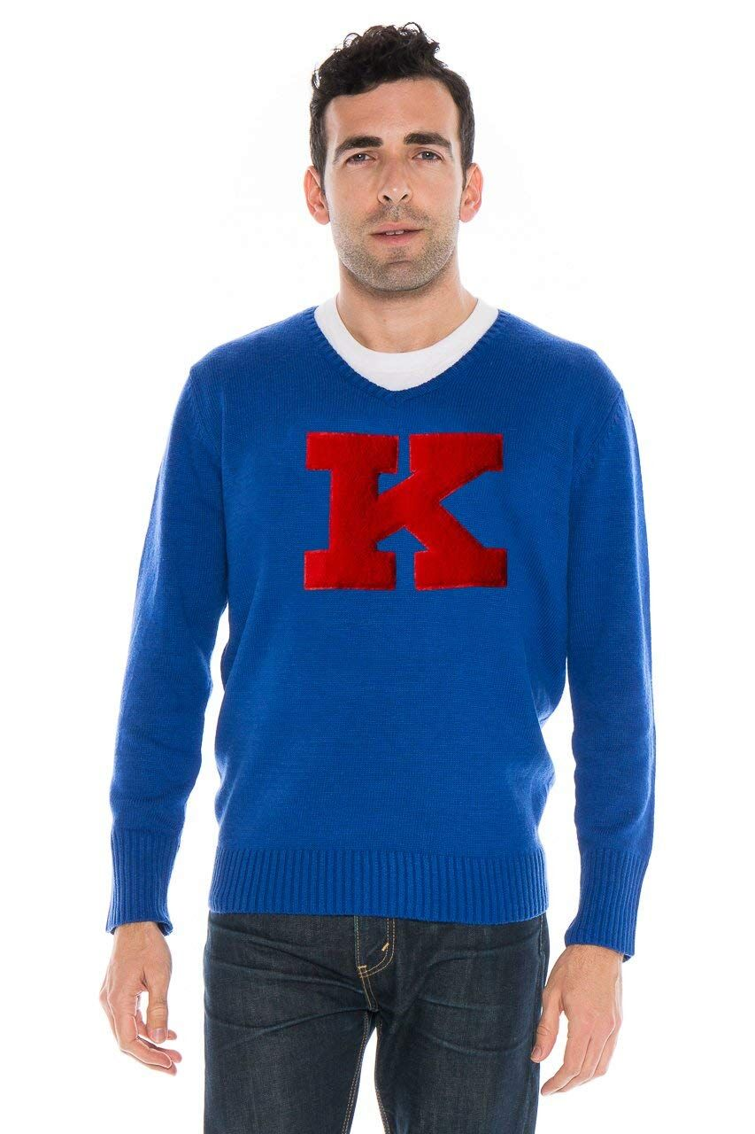 UNIVERSITY OF KANSAS Men's V-Neck Sweater