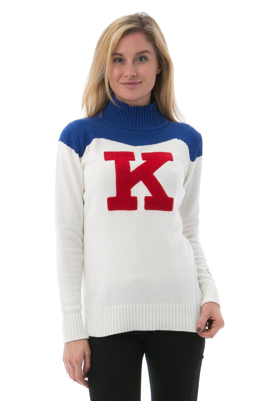 UNIVERSITY OF KANSAS Women's Cheer Sweater