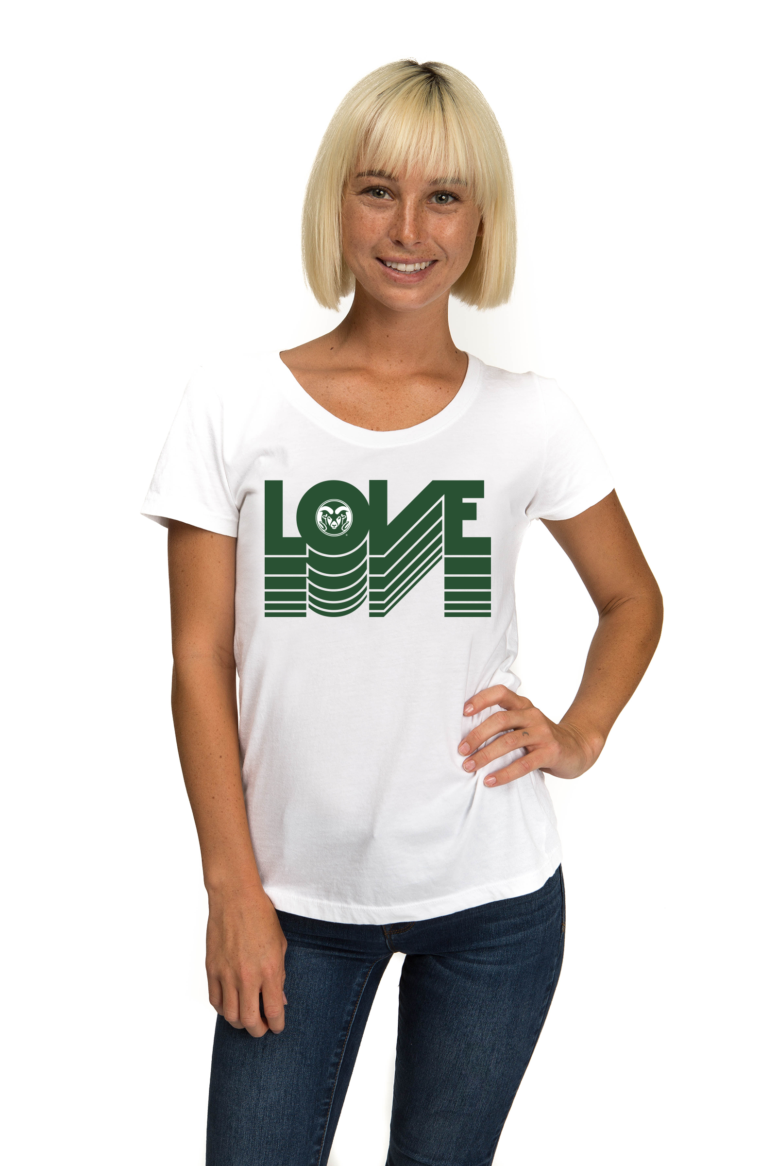 COLORADO STATE UNIVERSITY Rams Women's Organic Tee