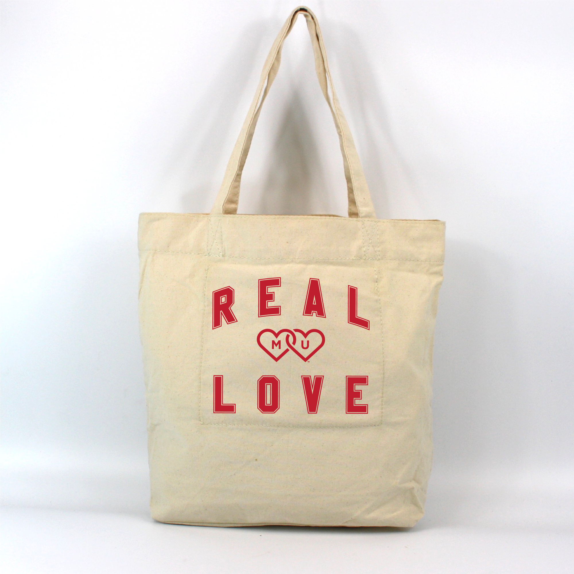 MIAMI UNIVERSITY Redhawks Miami Merger Real Love Cause Gear Market Tote
