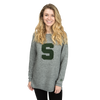 MICHIGAN STATE UNIVERSITY Spartans Women's Visible Seam Sweater