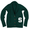 MICHIGAN STATE UNIVERSITY Spartans Women's Letterman Cardigan