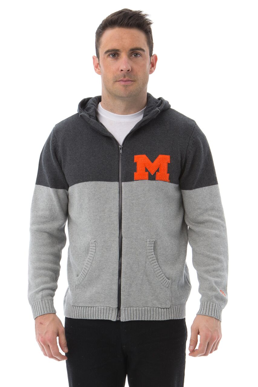 UNIVERSITY OF MARYLAND Terrapins Men's Color Block Zip