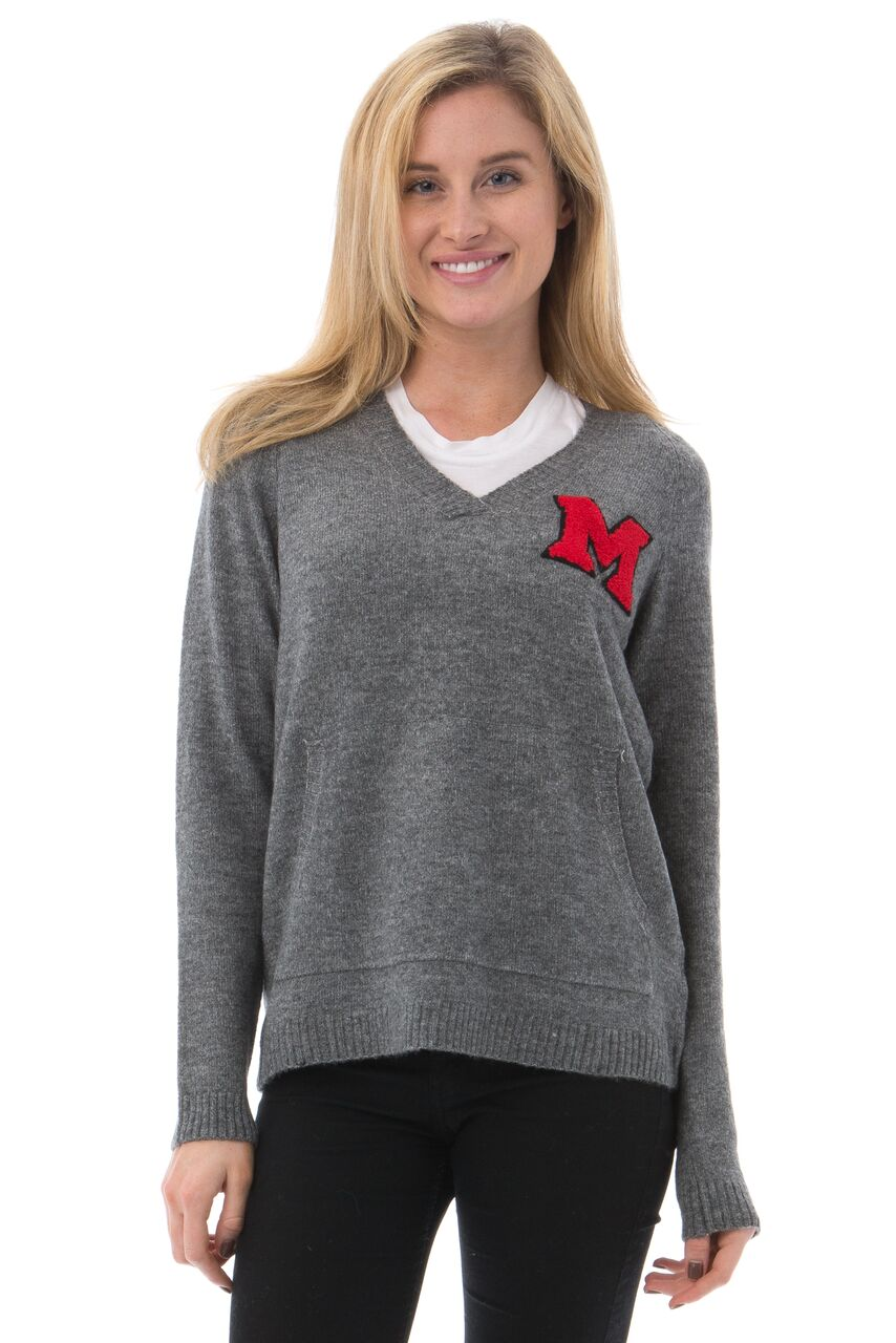 MIAMI UNIVERSITY Women's Boyfriend Sweater