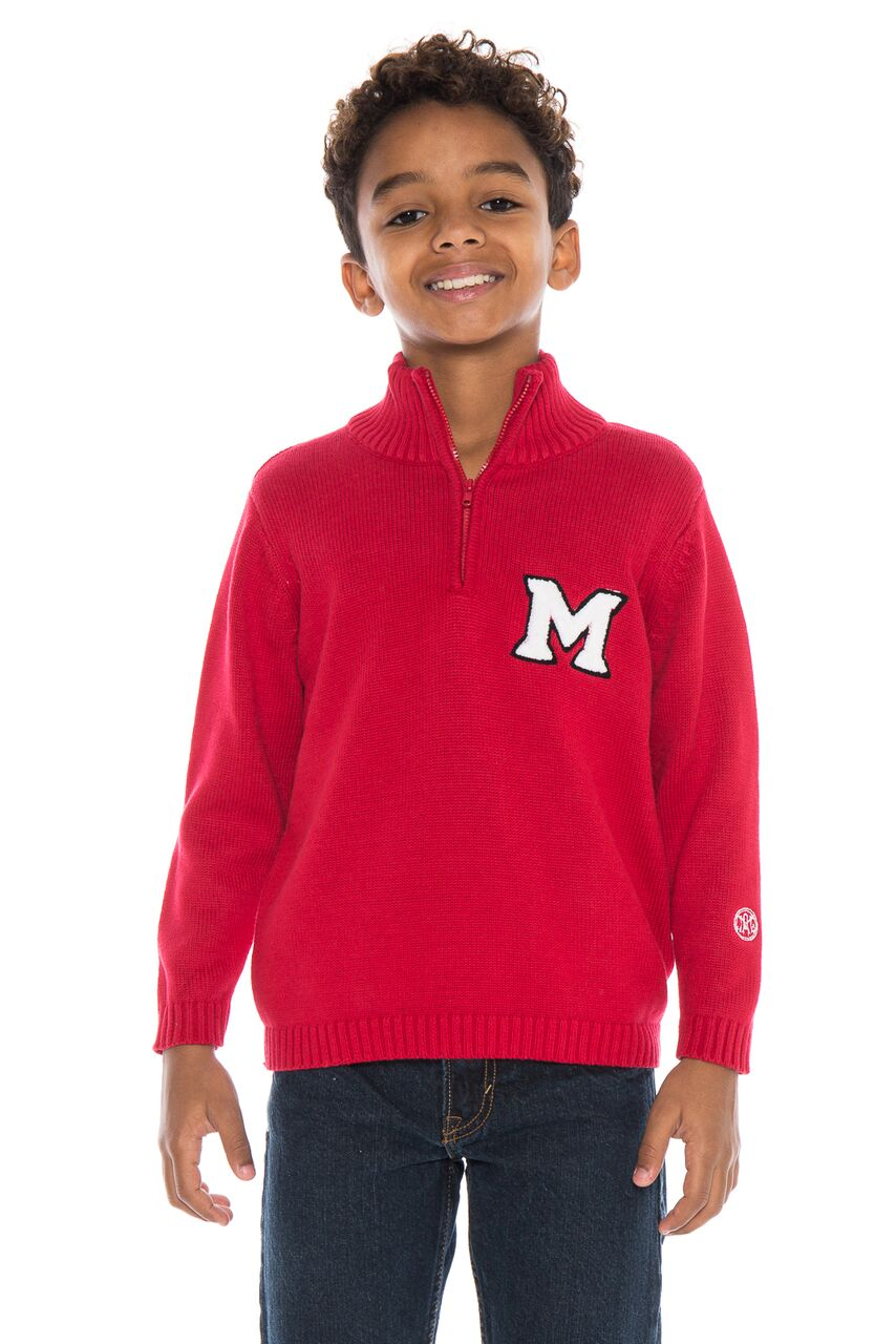 MIAMI UNIVERSITY Boy's Quarter Zip