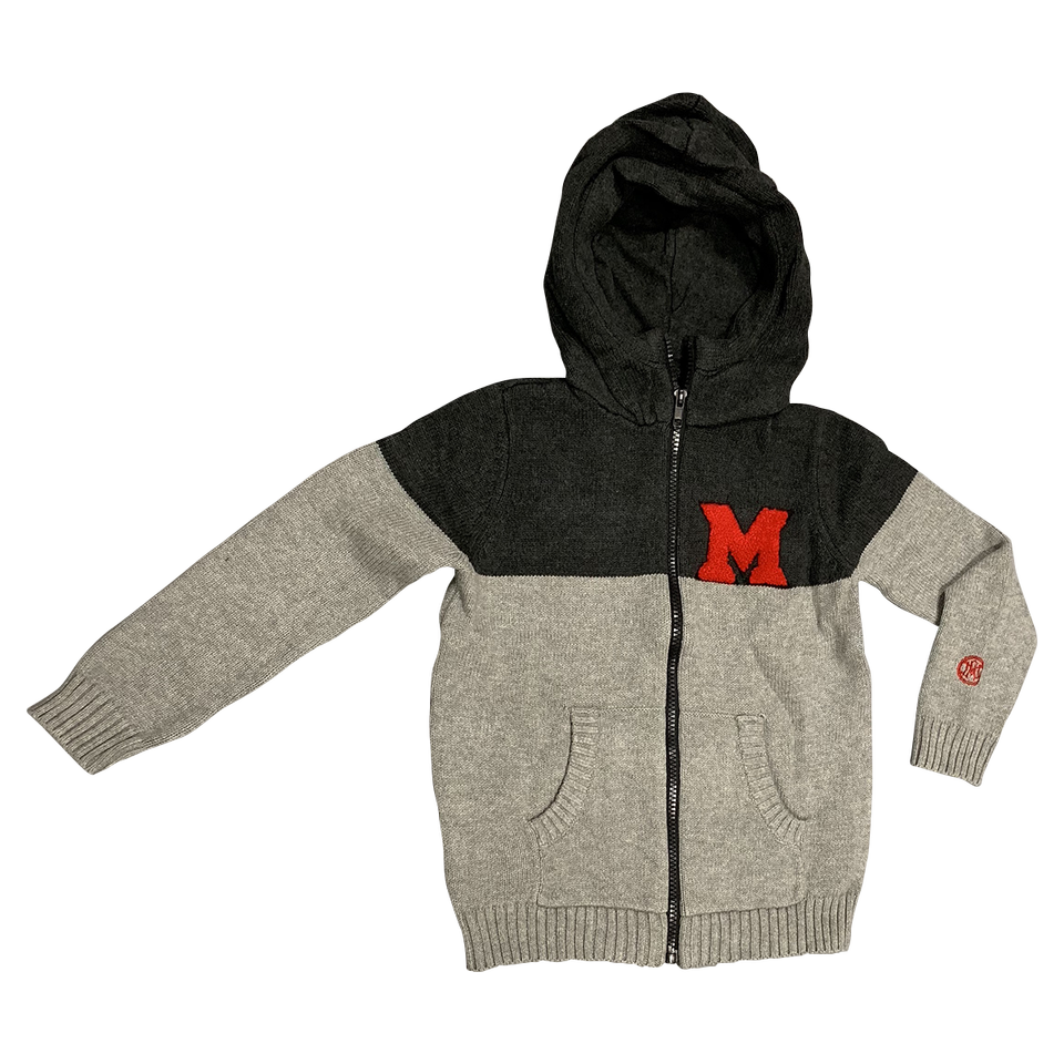 MIAMI UNIVERSITY Boy's Color Block Zip