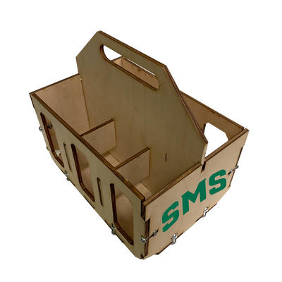 St. Mary School Wooden Six Pack