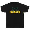 ST. MARY SCHOOL UNISEX COTTON PERFECTION TEE COUGARS EYES
