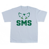 ST. MARY SCHOOL BI-BLEND YOUTH MEGA TEE SMS EYES WHITE