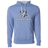 Johns Hopkins University Unisex French Terry Hooded Pullover
