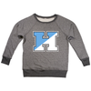"Johns Hopkins University ""H"" Women's French Terry Raglan Boatneck"