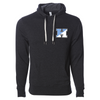 "Johns Hopkins University ""H"" Unisex French Terry Hooded Pullover"