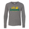 St. Mary School Little Cougars Youth Jersey Long Sleeve Tee Tee