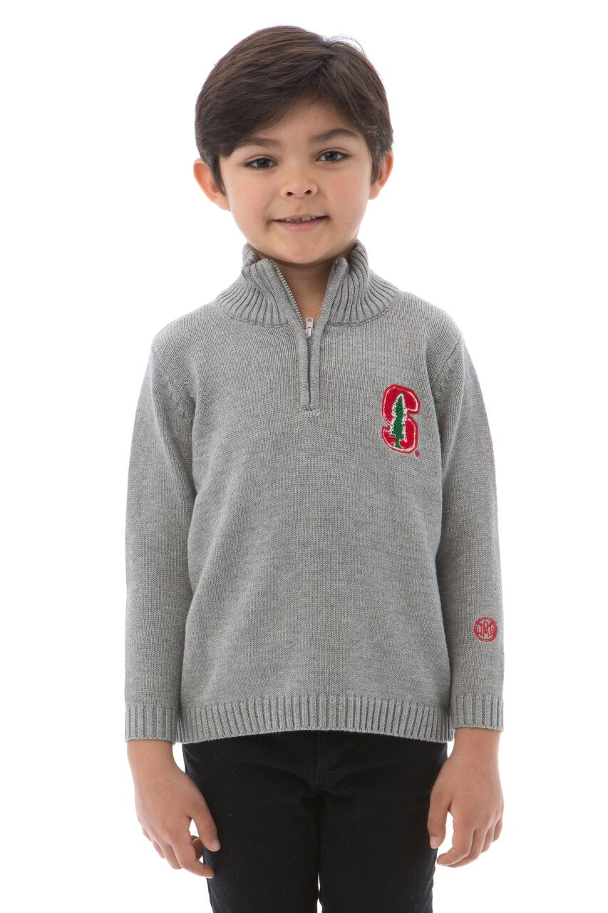STANFORD UNIVERSITY Boy's Quarter Zip