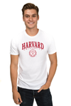 HARVARD UNIVERSITY Crimson Men's Organic Tee
