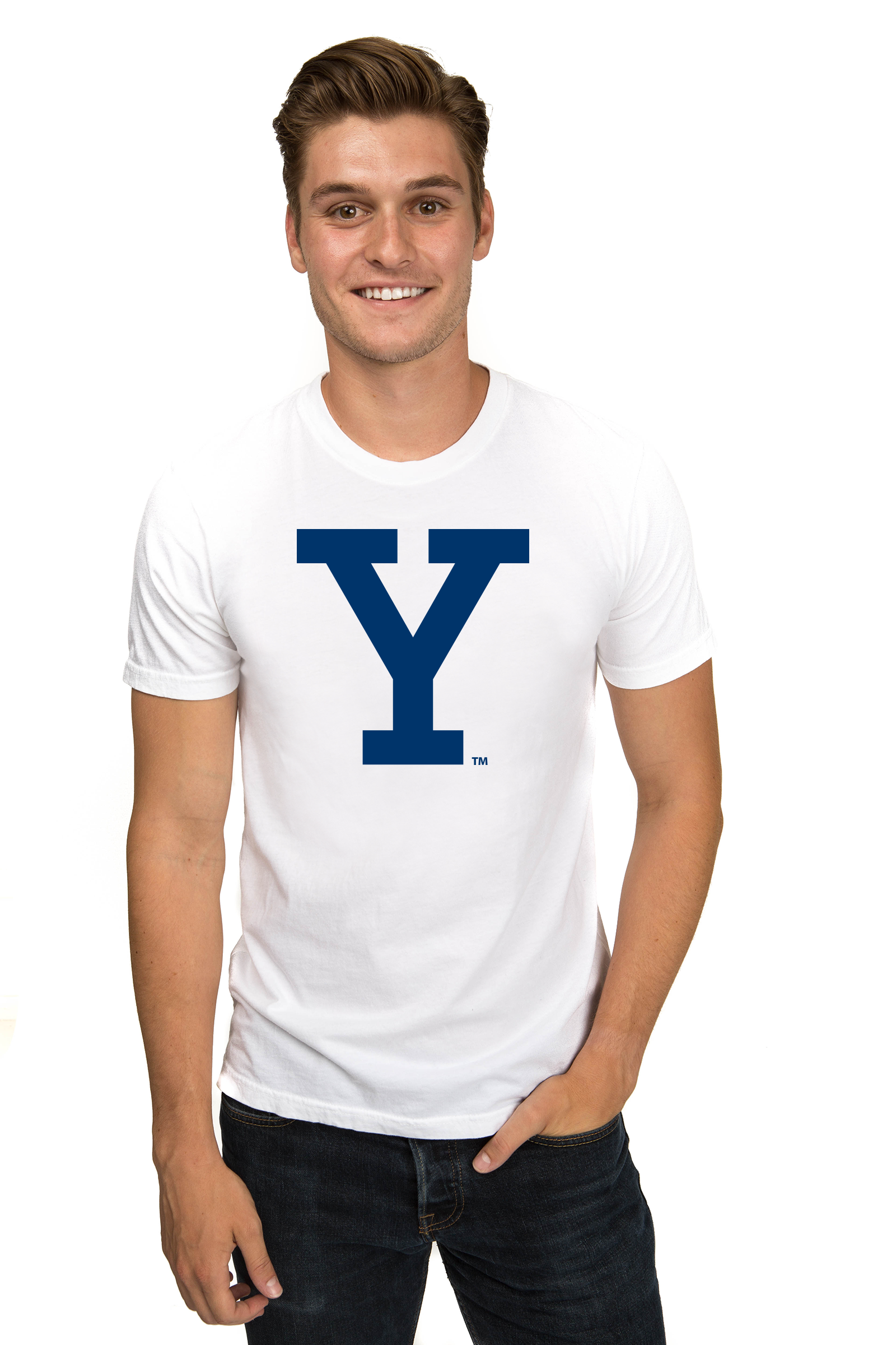 YALE UNIVERSITY Bulldogs Men's Organic Tee