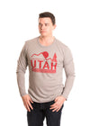 UNIVERSITY OF UTAH Utes Men's Long Sleeve Tee