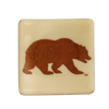 CAL Bear Glass Dish