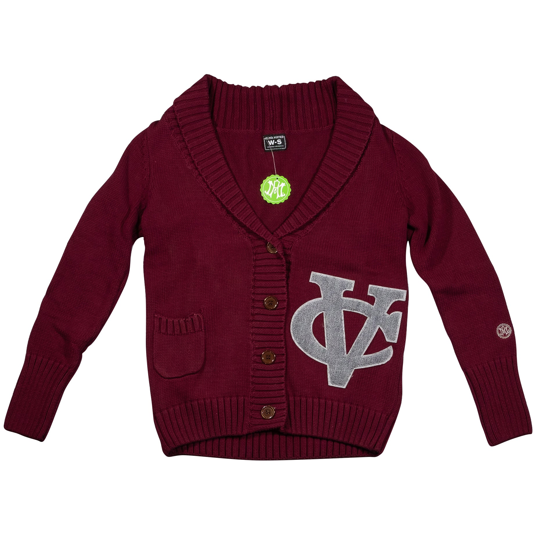 VASSAR COLLEGE  Women's Letterman Cardigan