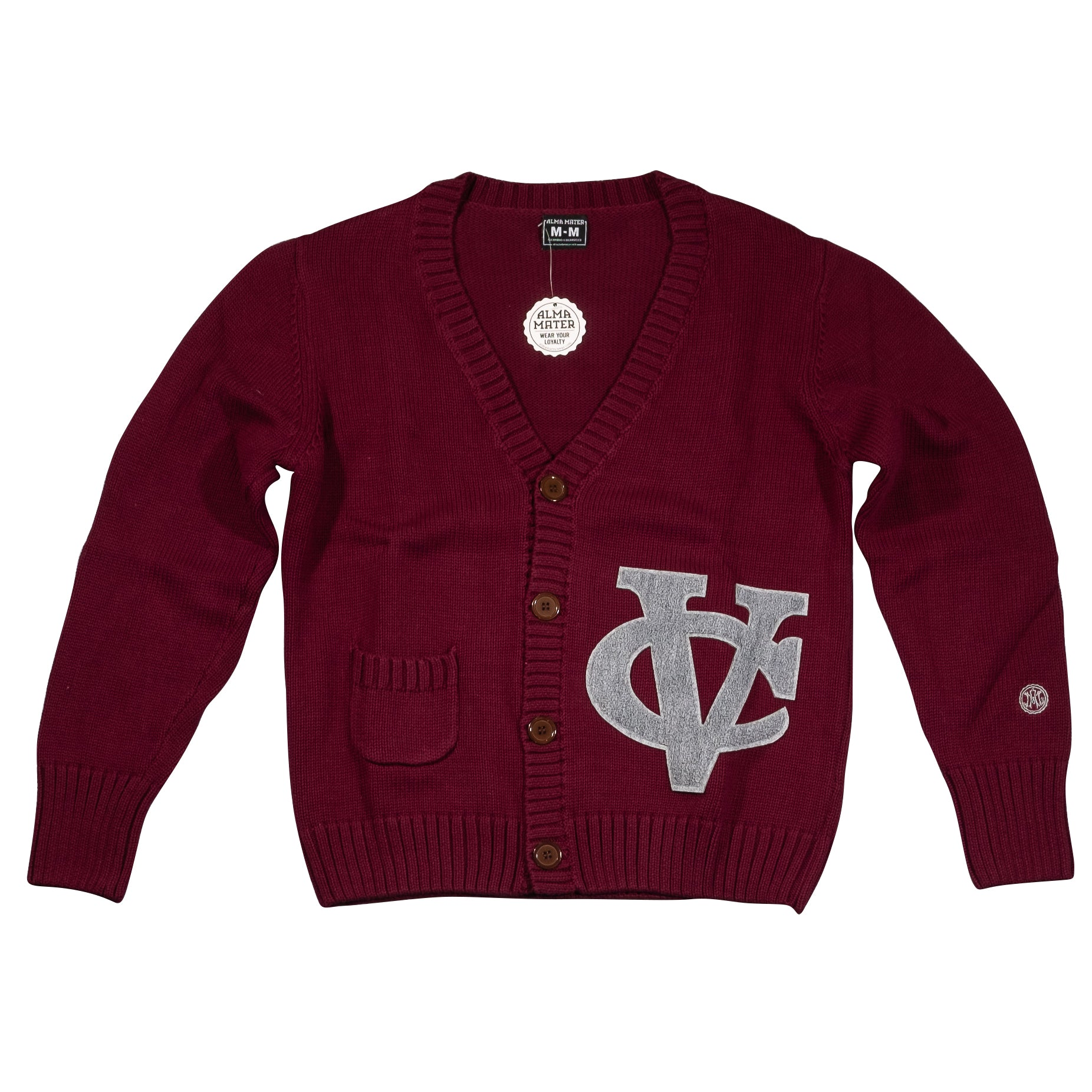VASSAR COLLEGE Men's Letterman Cardigan