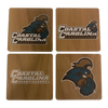 COASTAL CAROLINA UNIVERSITY Walnut Coaster Set