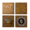 NORTHERN KENTUCKY UNIVERSITY Walnut Coaster Set