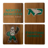 UNIVERSITY OF NORTH DAKOTA Walnut Coaster Set