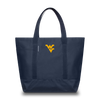 WEST VIRGINIA UNIVERSITY Mountaineers Hudson Sutler Weekender Tote Blue