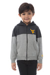 WEST VIRGINIA UNIVERSITY Mountaineers Boy's Color Block Zip