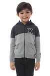 XAVIER UNIVERSITY Boy's Color Block Zip