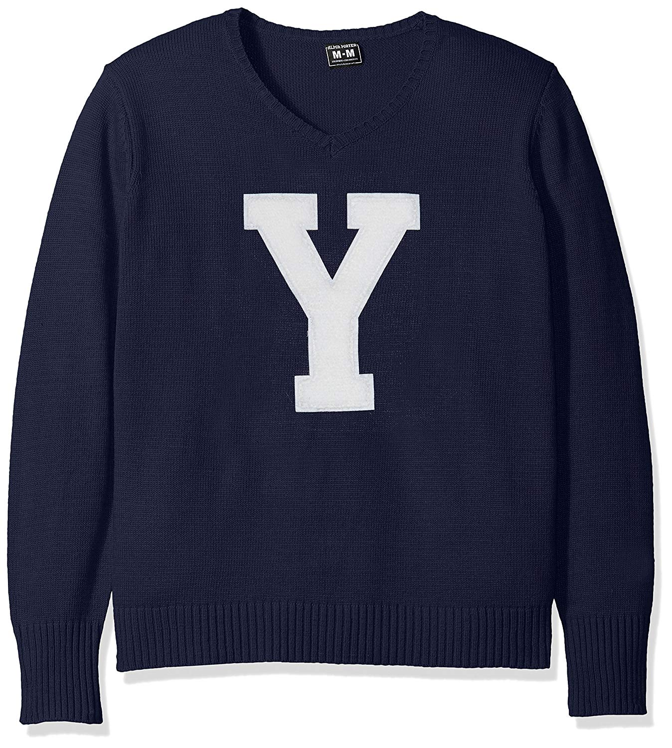 YALE UNIVERSITY Bulldogs Men's V-Neck Sweater