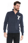 YALE UNIVERSITY Bulldogs Men's Quarter Zip Sweater
