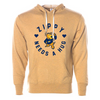 The University of Akron Zippy Needs A Hug Unisex French Terry Hooded Pullover
