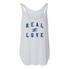 The University of Akron Real Love Women's Side Slit Tank