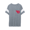 University of Dayton Logo Women's Powder Puff Eco-Jersey T-Shirt