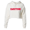 University of Dayton Mark Women's Cropped Hoodie