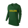 ST. MARY SCHOOL Nike Women's L/S Shooting Shirt - Dark Green