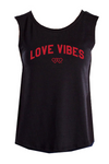 MIAMI UNIVERSITY Redhawks Miami Merger Love Vibes Women's Muscle Tank