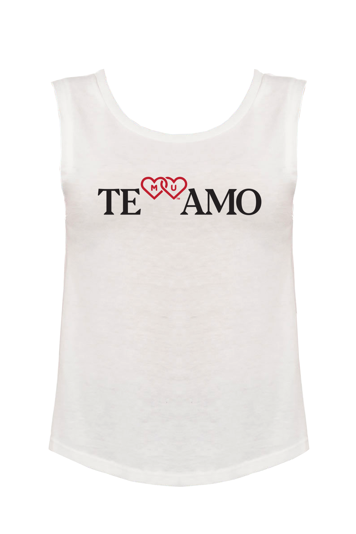 MIAMI UNIVERSITY Redhawks Miami Merger Te Amo Women's Muscle Tank